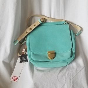 LACOSTE Crossbody Bag Purse Adjustable! NEW + Tags